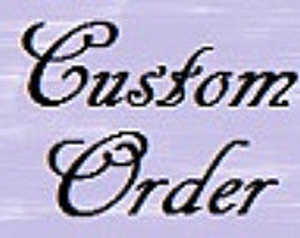 Custom Embroidery Design Multiple Sizes