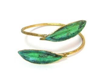 Olive Leaf Bracelet 'Elia' by Ilios, Olive Leaf Jewelry, Olive Branch, Greek Jewelry, Greek Wedding, Wedding Jewelry, Ancient Greece