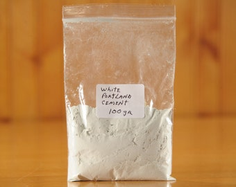 FreeShip- White Portland Cement For Concrete- (Contact shop to request actual ship cost for multi items)