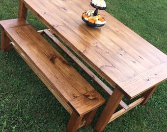 7' Farmhouse table