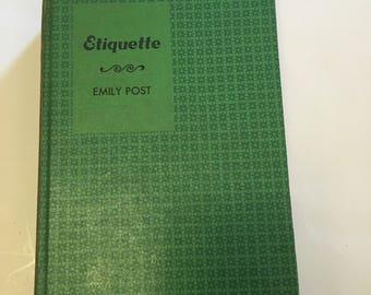 Sale,,,,Etiquette (1956) by Emily Post