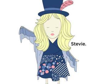 Stevie.