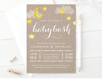 baby shower invitation template baby bash printable couples baby shower invite neutral baby