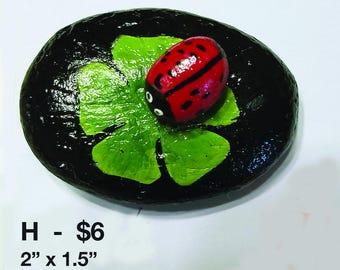 Ladybugs on a leaf rocks - 2