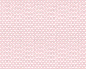 Felt Baby Girl hearts 30.5 x 30.5 cm - felt heart - felt Rose