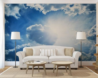 Cloud Dream Self Adhesive Wall Mural