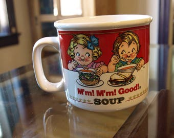 Vintage 1993 Oversized Campbill's Soup Cup by Westwood