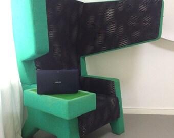 Design Modern Funky Unique Ear Chair Jurgen Bey for Prooff