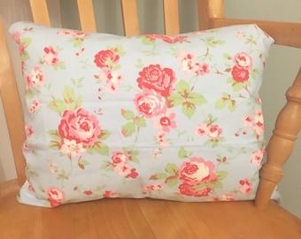 Handmade 'Cath Kidston' Blue Floral Cushion