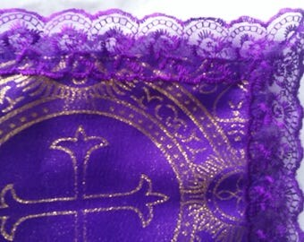 Purple on Purple, with mettalic gold highlights