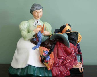 Early Royal Doulton Figurines The Wardrobe Mistress HN2145 Excellent