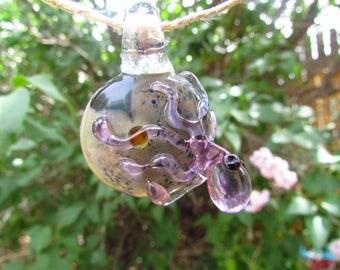 Hand Blown Glass Pendant