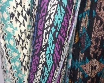 Aztec Rayon Spandex Prints