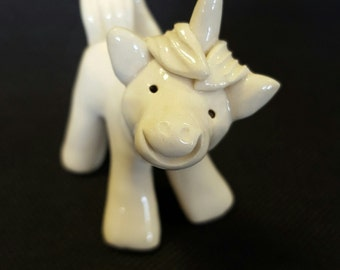 Little Guys Ceramic Unicorn