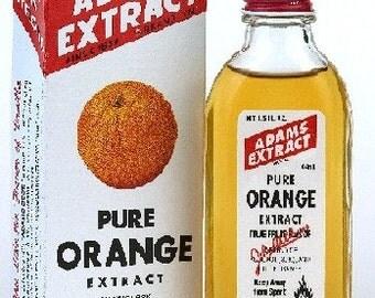 Adams Extract Pure Orange Extract 1.5oz