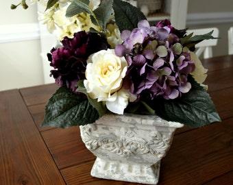 Romantic Purple Centerpiece