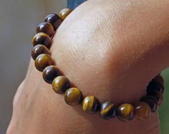 Stone Tiger eye bracelet