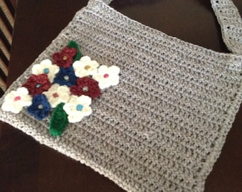 Crocheted Handmade Tote Bag