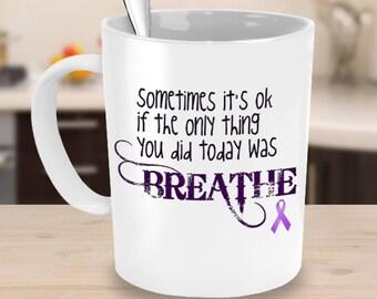 Cystic Fibrosis Mug - Cystic Fibrosis Awareness