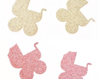 Glitter Prams - Confetti 12pk