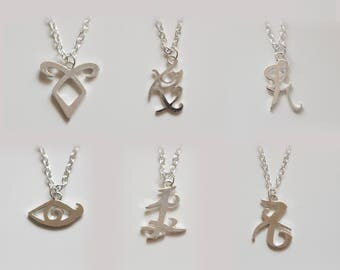 The ShadowHunters inspired Rune Necklaces