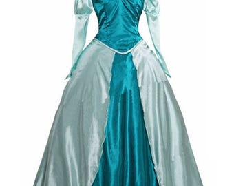 Ariel Cosplay Dress Princess Cosplay Dress The Little Mermaid Cosplay Costumes