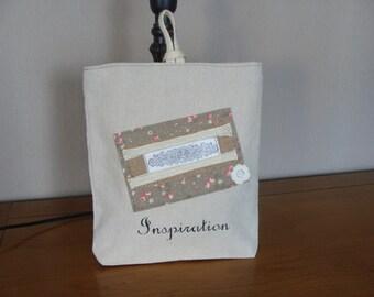 Pocket pouch linen ecru inspiration muse buffer hemp jute hook
