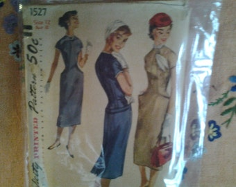 Vintage 1950s McCalls pattern for dressy suit