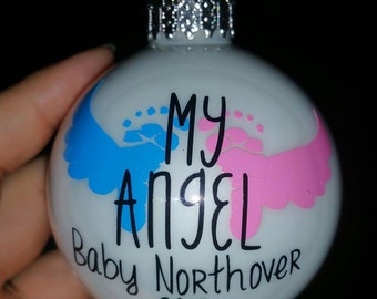 Miscarriage Ornament, Memorial Ornament, My Angel, Our Angel
