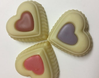 Heart Shaped Massage/Lotion Bar