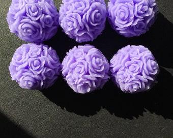 BIG Rose Ball Wax Melts (Set of 6)