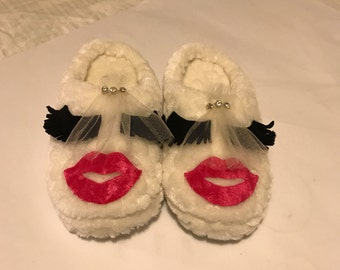 Handmade Beautiful Bridal Slipper Weding Slipper Bridal Favors