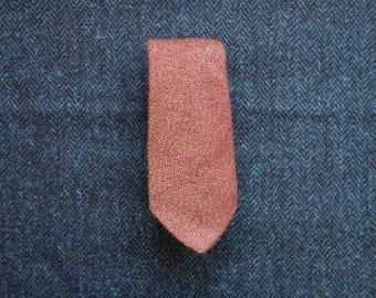 Mens Tie, Red Necktie, Craigmill Tie, Scottish Tie