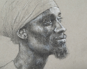 Limited Edition Print, 'Portrait #1'