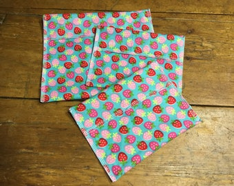 Reusable sandwich bags, reusable snack bags