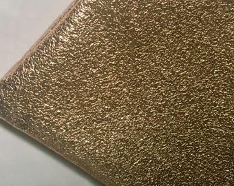 Gold Pebbles Mini Clutch Makeup Bag