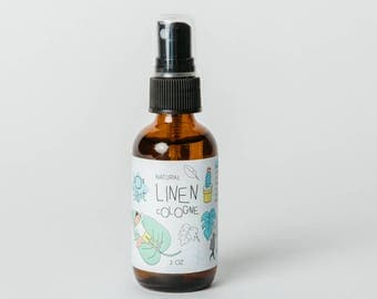 Linen Spray - Linen Cologne - Essential Oil Spray - Linen Deodorizer