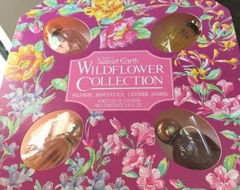 Vintage Wildflower Collection by Coty Pfizer Sweet Earth