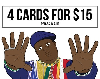 Bulk card discount - 4 cards for the price of 3
