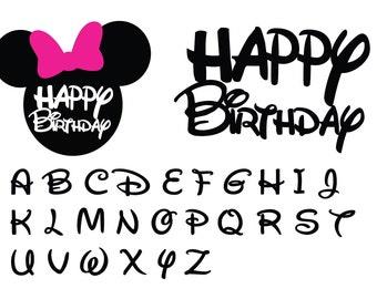 Minnie Mouse SVG , DXF File, Minnie Svg, Vinyl Cutting File, Mickey Silhouette, Disney SVG, Digital File, Cricut, Disney