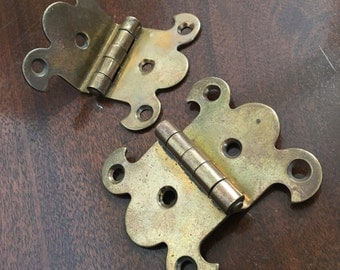 Decorative Brass Cabinet Hinges