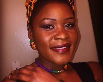 African Head wrap set
