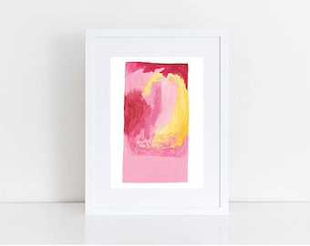 Watercolour Print, Abstract Wall Art, Abstract Art Print, Large Abstract Decor, Wall Art, Minimalist Poster, Scandinavian Art, Wall Decor