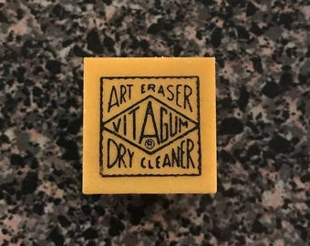 "Vitagum No. 1 Art Erasers 1""x1""x1""  Set of 4"