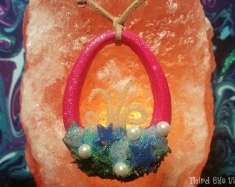 Mermaid Portal Necklace (Pink)