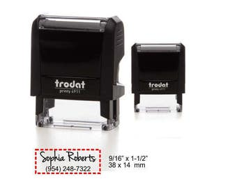 Trodat 4911 (Self Inking Rubber Stamp)