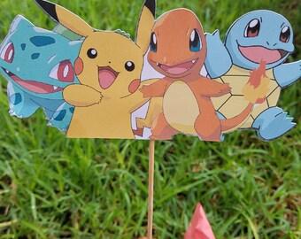 Pokemon centerpiece, pokemon birthday party, pokemon party, pokemon birthday, pokemon decorations