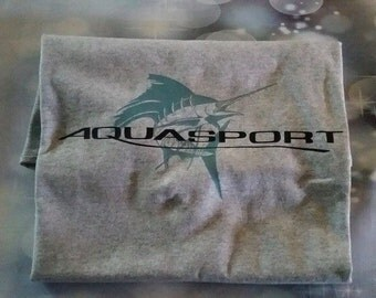 AQUASPORT logo shirt