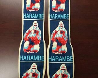 Harambe Socks Gorilla Love