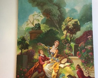 """Vintage Oil Painting Signed, Painting 28"""" x 20"""""""